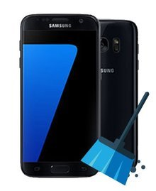Samsung G930F Galaxy S7 32GB (refurbished mit 24 Monaten Garantie) - black onyx